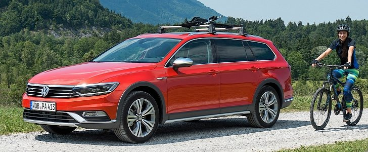 all new volkswagen passat alltrack launched with 4 engines autoevolution. Black Bedroom Furniture Sets. Home Design Ideas