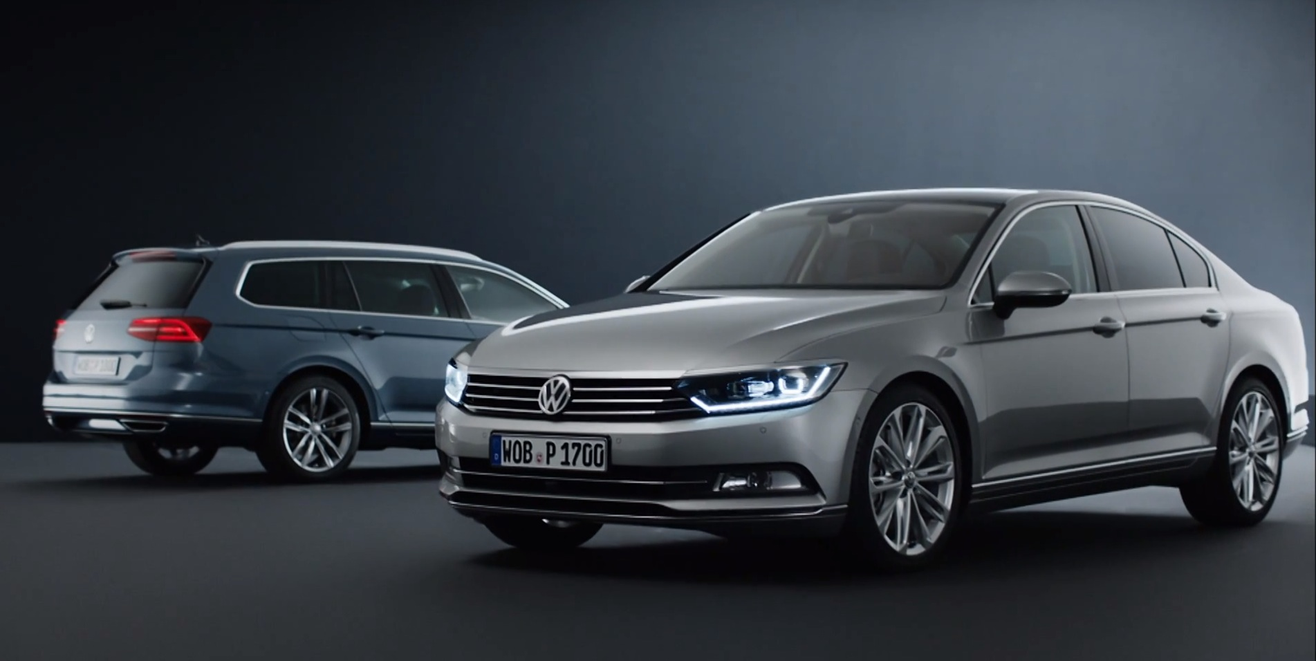 all new volkswagen passat sedan and wagon design takes center stage in first videos autoevolution. Black Bedroom Furniture Sets. Home Design Ideas