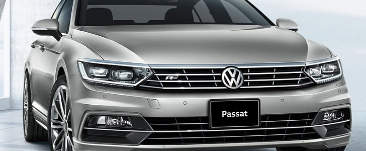 all new volkswagen passat launched in japan with 1 4 tsi. Black Bedroom Furniture Sets. Home Design Ideas