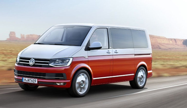 All-New Volkswagen Transporter T6 Unveiled: Premium Multivan, Bulli ...