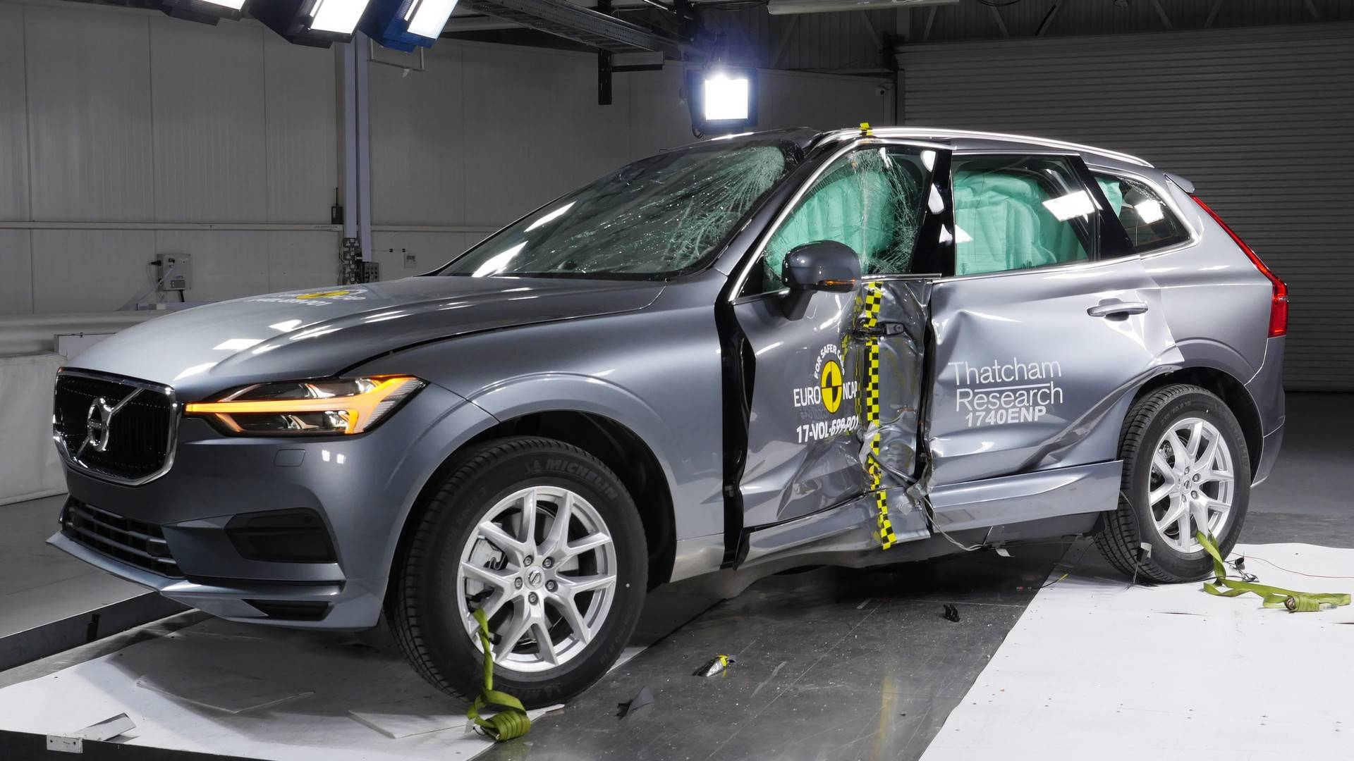 Volvo XC60 crowned the 2017 safest vehicle in Euro NCAP