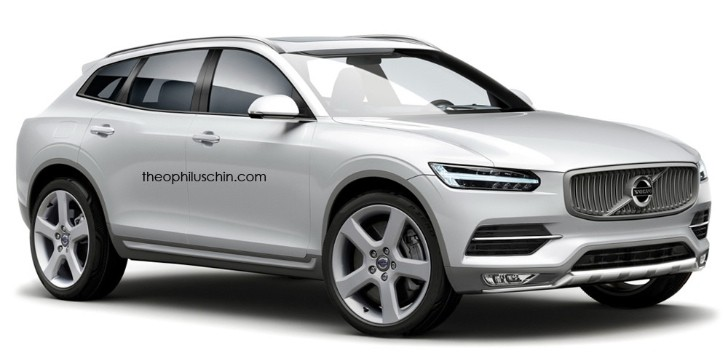 All New Volvo Xc90 Rendered With Sexy Coupe Roofline