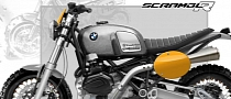 All-Steel BMW R1200GS Scrambler Concept from Nicolas Petit