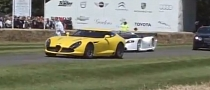 Some of the Supercars Present at Goodwood 2012 Fly-By [Video]