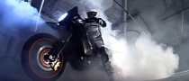 All-Wheel-Drive KTM 990 Adventure Burnout [Video]