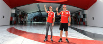 Alonso, Massa Pay Fun Visit to Ferrari World Abu Dhabi [Gallery]