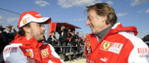 Alonso Plans 10-Year Career with Ferrari
