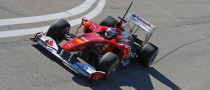 Alonso Prudent on Ferrari F10 Performances