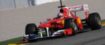Alonso Sets Early Pace in Valencia [Photo Gallery]