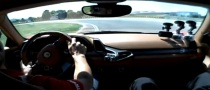 Alonso Takes Crying Journalist for a Ride in Ferrari 458 Italia [Video]