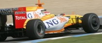 Alonso Tops Last Day of Testing at Jerez