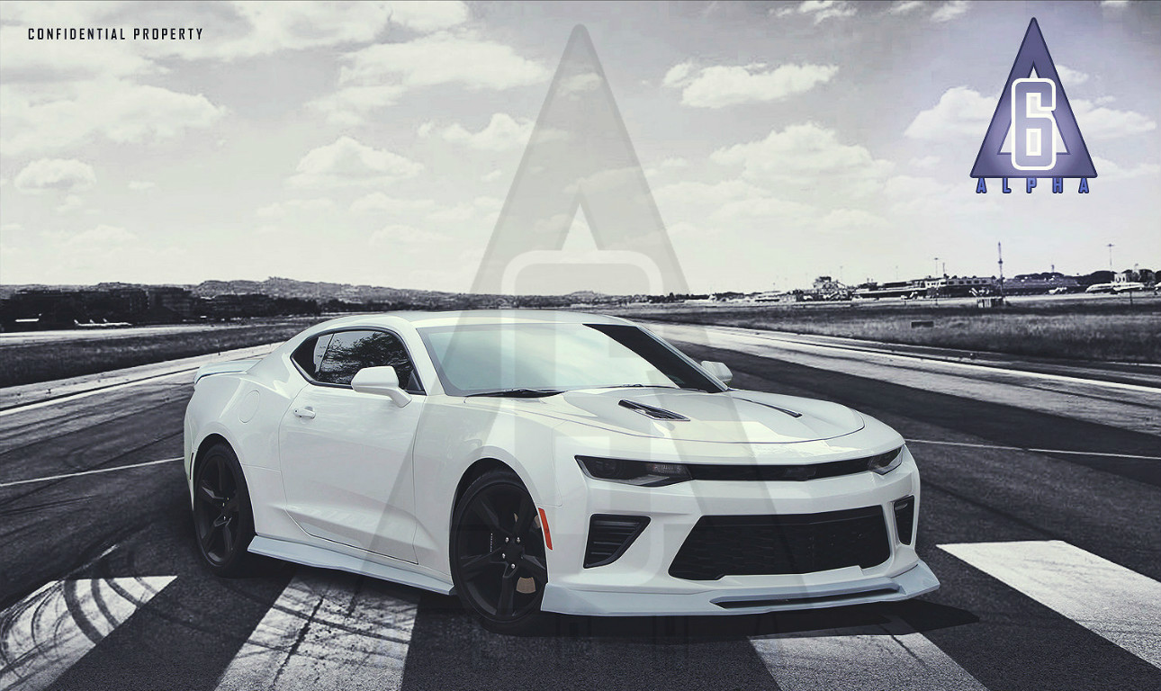 Alpha Six Designs Aerodynamic Package For 2016 Chevrolet