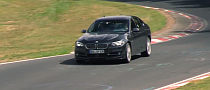 Alpina B5 Biturbo Testing on the Nurburgring Before Launch [Video]