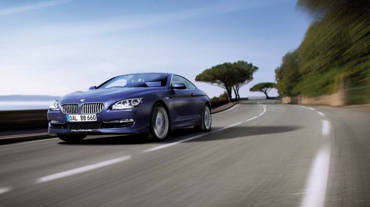 Alpina B6 Biturbo Beats BMW M6 F13 at Top Speed Challenge [Video]