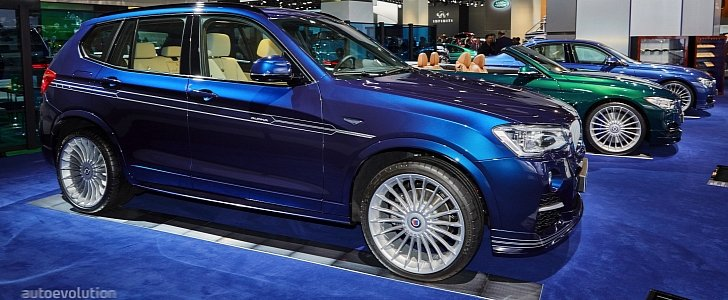 Alpina Xd3 Biturbo Facelift Brought Its 350 Hp Diesel Engine To Frankfurt Autoevolution