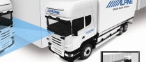 Alpine Safety View System for Commercial Vehicles