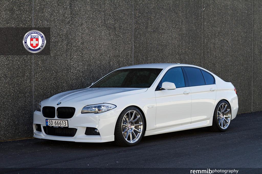 White BMW F10 Rims
