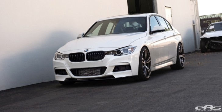Alpine White BMW F30 335i Is Subtle