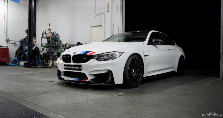 Alpine White Bmw M4 Featured In Bmw S Stand At Sema Was Done