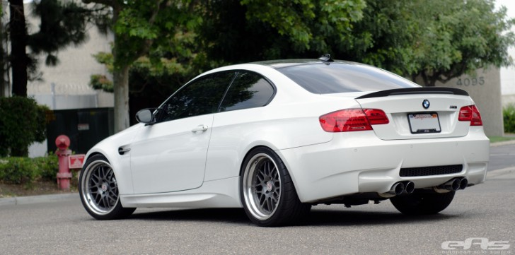 Alpine White E92 M3 Leaves Subtle and Clean from EAS [Photo Gallery]