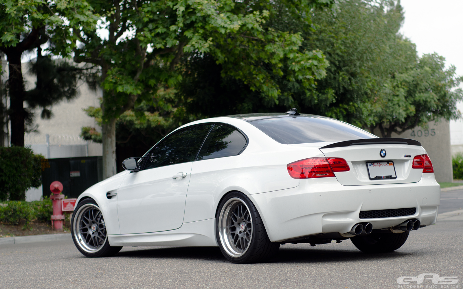 Alpine White E92 M3 Leaves Subtle And Clean From Eas