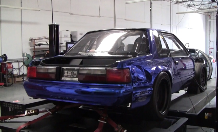 Altered Fox Body Mustang Delivering 855 Rwhp On Dyno