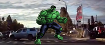 Amarok Hulk-Flips a Hyundai Getz in Russia [Video]