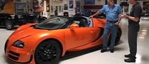 Amazing Bugatti Veyron GS Vitesse Driven by Jay Leno [Video]