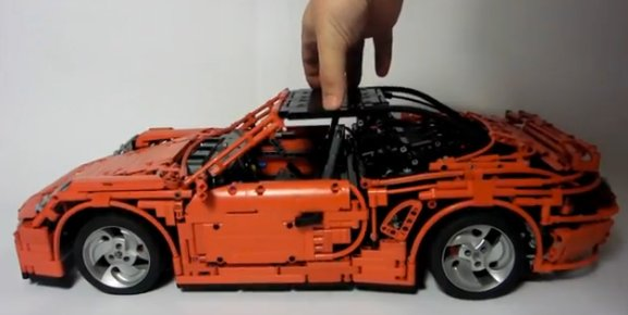 Amazing Porsche 911 Turbo Created In Lego Autoevolution