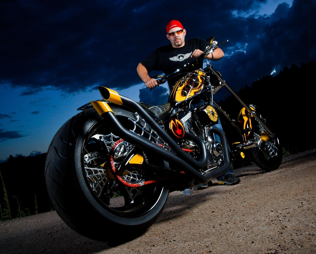 american chopper to build bikes for cadillac autoevolution. Black Bedroom Furniture Sets. Home Design Ideas