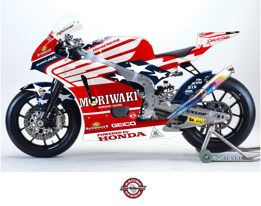 American Honda Moriwaki MD600 Moto2 Bike