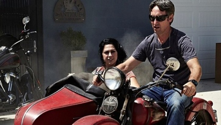 Gold Star Cars >> American Pickers Host Mike Wolfe Loves His 1937 Harley ...