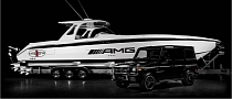 AMG 42 Huntress Cigarette Boat Inspired by G63 AMG [Photo Gallery]