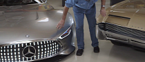 AMG Vision Gran Turismo Makes a Visit Inside Jay Leno's Garage [Video]