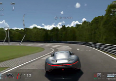 AMG Vision Gran Turismo Tested on Gran Turismo's Nurburgring