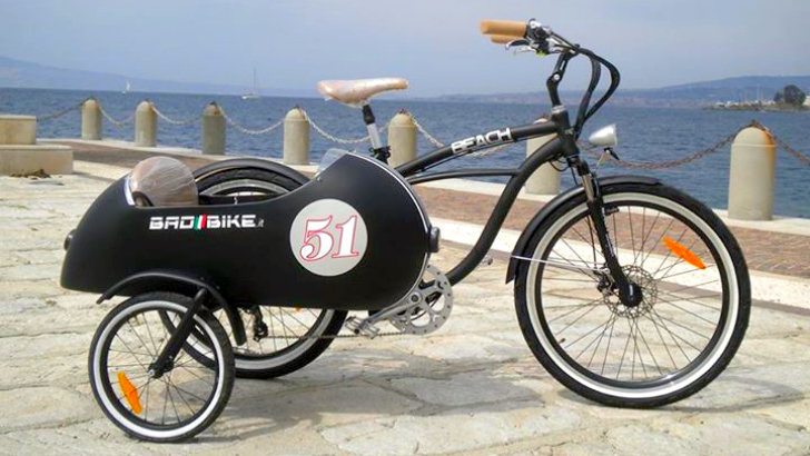 An Electric Sidecar Bicycle How Cool Is That Autoevolution