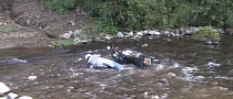 An Enduro Rider's Funny Crash in the River [Video]