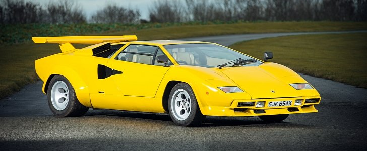 An Incredibly Rare 1981 Lamborghini Countach Could Be Yours