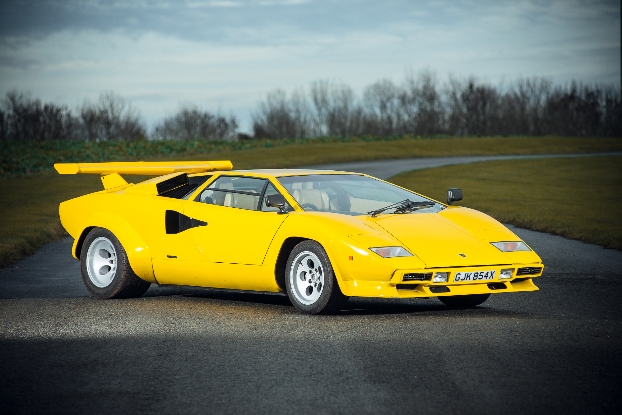 An Incredibly Rare 1981 Lamborghini Countach Could Be Yours ...