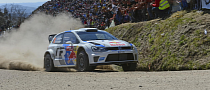 Andreas Mikkelsen Celebrates Premiere in Polo R WRC