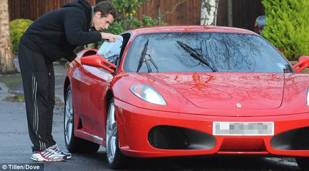 andy murray to pay 100 000 pounds to insure his ferrari autoevolution. Black Bedroom Furniture Sets. Home Design Ideas