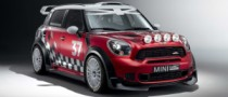 Andy Priaulx Tests the MINI Countryman WRC