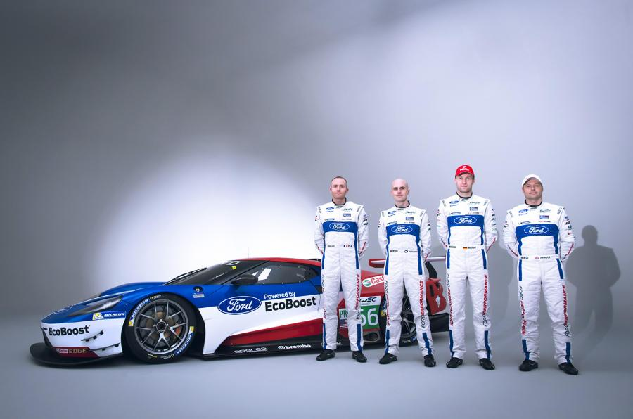 Andy Priaulx To Drive The Ford Gt In The  Wec