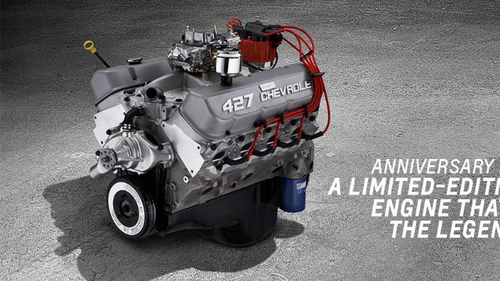 Anniversary Edition Chevrolet Big Block V Crate Engine Detailed Photo Gallery