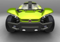 Fiat goes green with its Bugster Concept