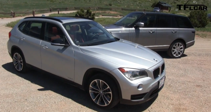 Another Crazy Mashup: BMW X1 and Supercharged Range Rover [Video]