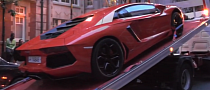 Another Lamborghini Aventador Seized by the London Police [Video]