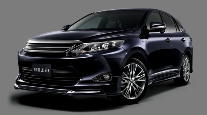 Another trd toyota harrier heading for 2014 tokyo auto for 2014 tokyo auto salon