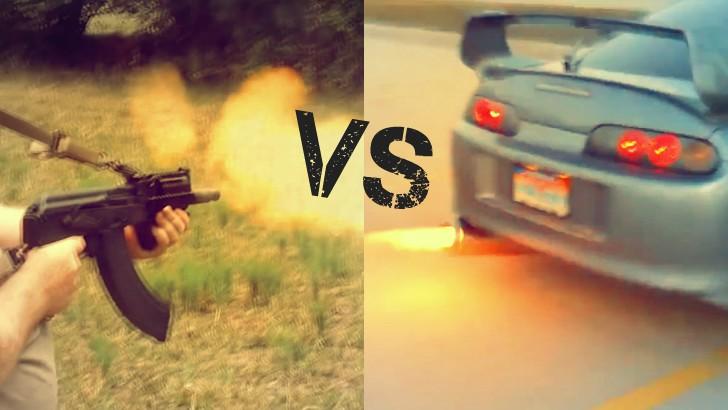 Lexus Nx 200T F Sport >> Anti-Lag Toyota Supra VS Mini Draco AK-47 - autoevolution