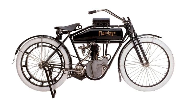 Antique Motorcycles Exhibit at the Packard Museum